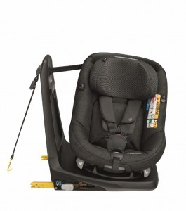 maxicosi carseat toddlercarseat axissfix  black nomadblack fixed